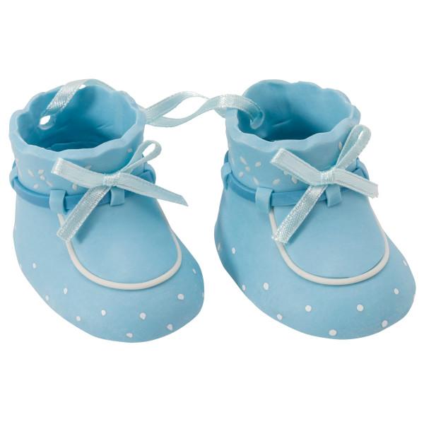 Blue Baby Booties DecoSet®