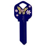 Butterfly Key Blank