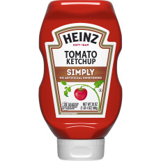 Heinz Simply Heinz Tomato Ketchup, 20 oz Bottle image