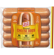 Oscar Mayer Uncured Cheese Dogs 16 oz Each (10 count Packs)