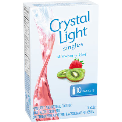 Crystal Light Singles, Strawberry Kiwi