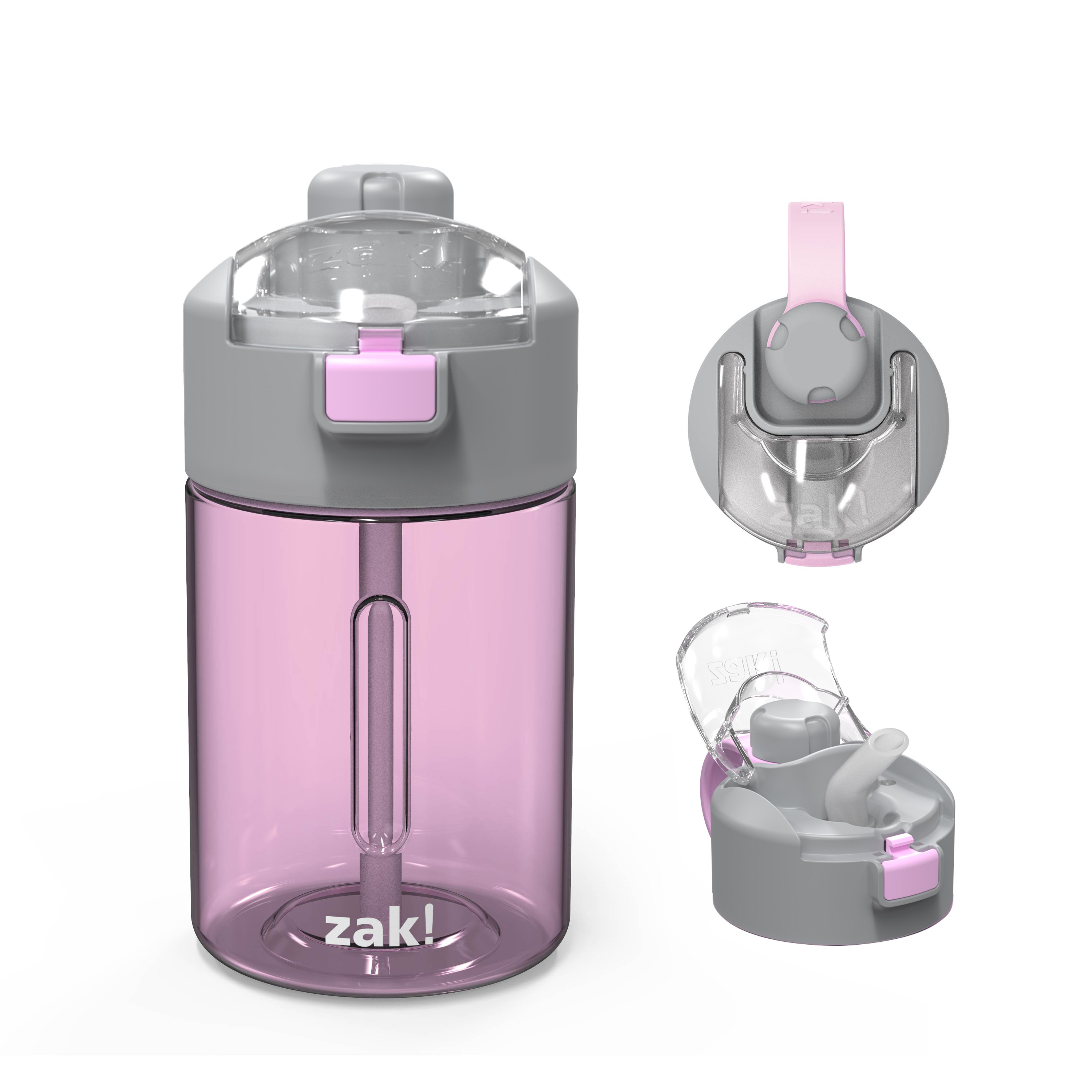 Genesis 12 ounce Water Bottle, Lilac slideshow image 2