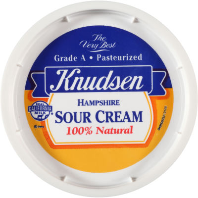 Knudsen Hampshire Sour Cream 16 oz Tub