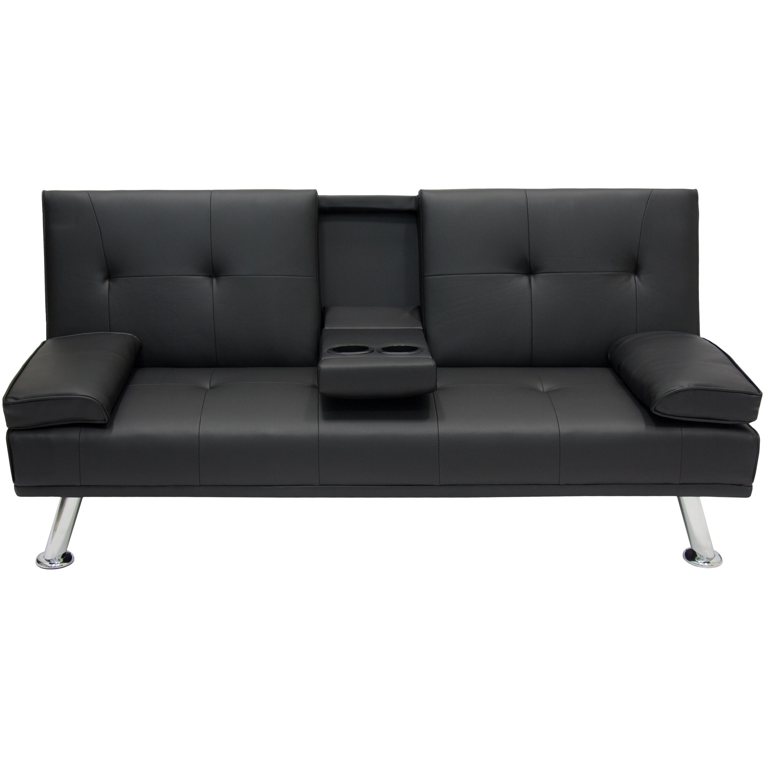 Best Convertible Futon Chair: Entertainment Furniture Futon Sofa Bed Fold Up Down