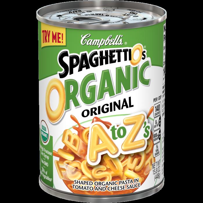 SpaghettiOs® Organic A to Z's
