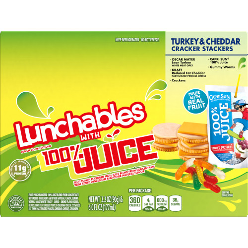 Lunchables Convenience Meals - Turkey and Cheddar 9.2 oz.