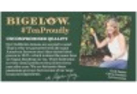 Top of Green Tea with Lemon tea box