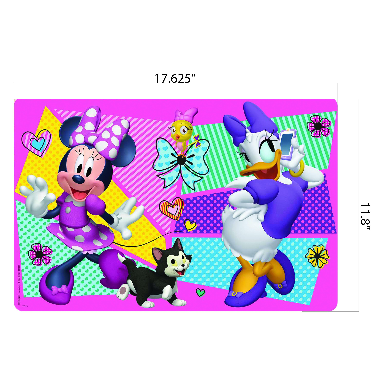 Disney Kid's Placemat, Minnie Mouse, 4-piece set slideshow image 3