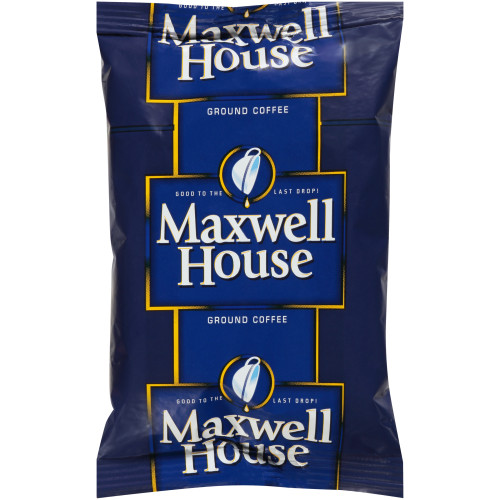 MAXWELL HOUSE Single Serve Ground Coffee, 2 oz. Bag (Pack of 192)