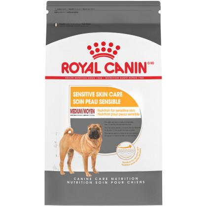 Royal Canin Canine Care Nutrition Medium Sensitive Skin Care Dry Dog Food