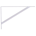 Hardware Essentials Shelf Bracket White