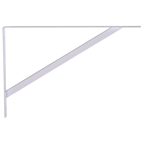 Hardware Essentials Shelf Bracket White (16