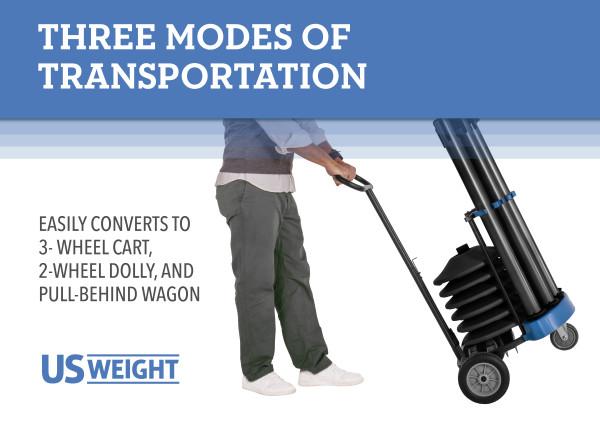 Rover Cart Bundle - Black Steel with CYB belts 7