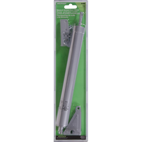 "Hardware Essentialsâ""¢ Silver Storm Screen Door Closers Pneumatic"