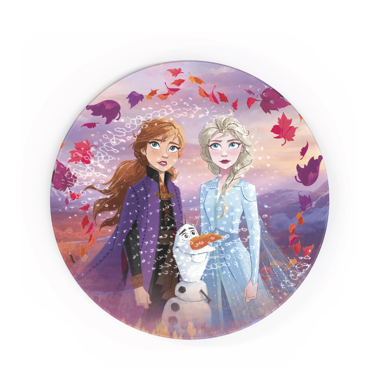 Disney Frozen 2 Movie Kids Plate and Bowl Set, Anna, Elsa & Olaf, 4-piece set slideshow image 5