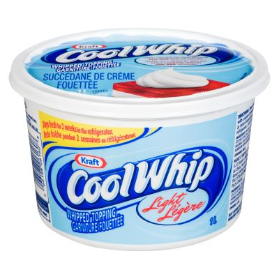 Cool Whip Light Frozen Whipped Topping