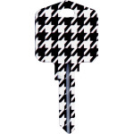 Kool Keys Houndstooth Key Blank
