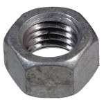 Coarse Galvanized Hex Nuts