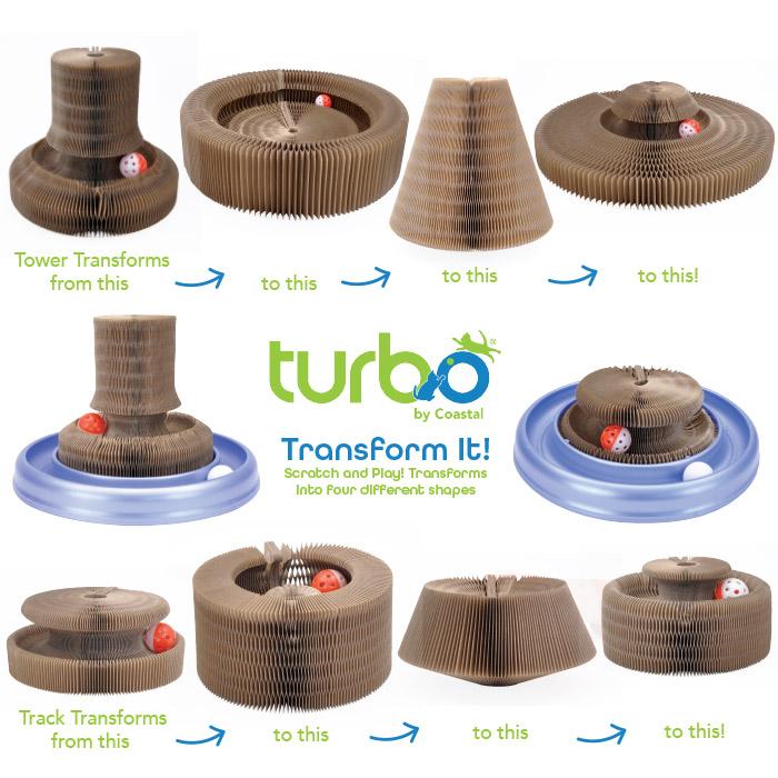 Turbo® Transform It! Cat Toys
