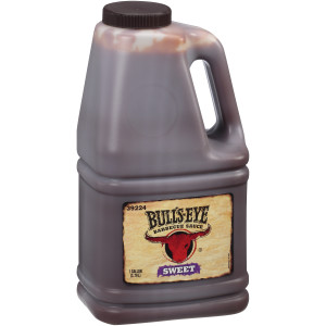 BULL'S-EYE Sweet BBQ Sauce, 1 gal. Jugs (Pack of 4) image