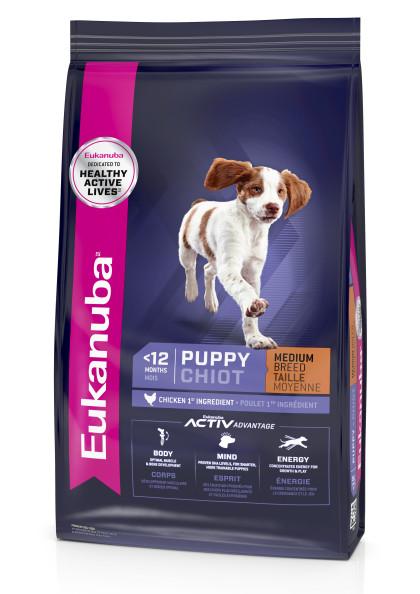 Eukanuba Puppy Puppy Medium Breed Dry Dog Food