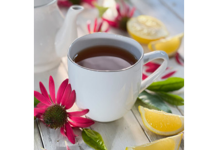 Cup of Lemon Echinacea Black Tea plus Vitamin C