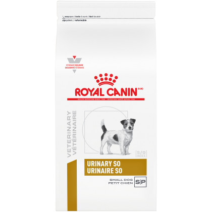 Royal Canin Veterinary Diet Canine Urinary SO Small Dog Dry Dog Food