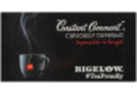 Back of Constant Comment Tea Box of 20 tea bags