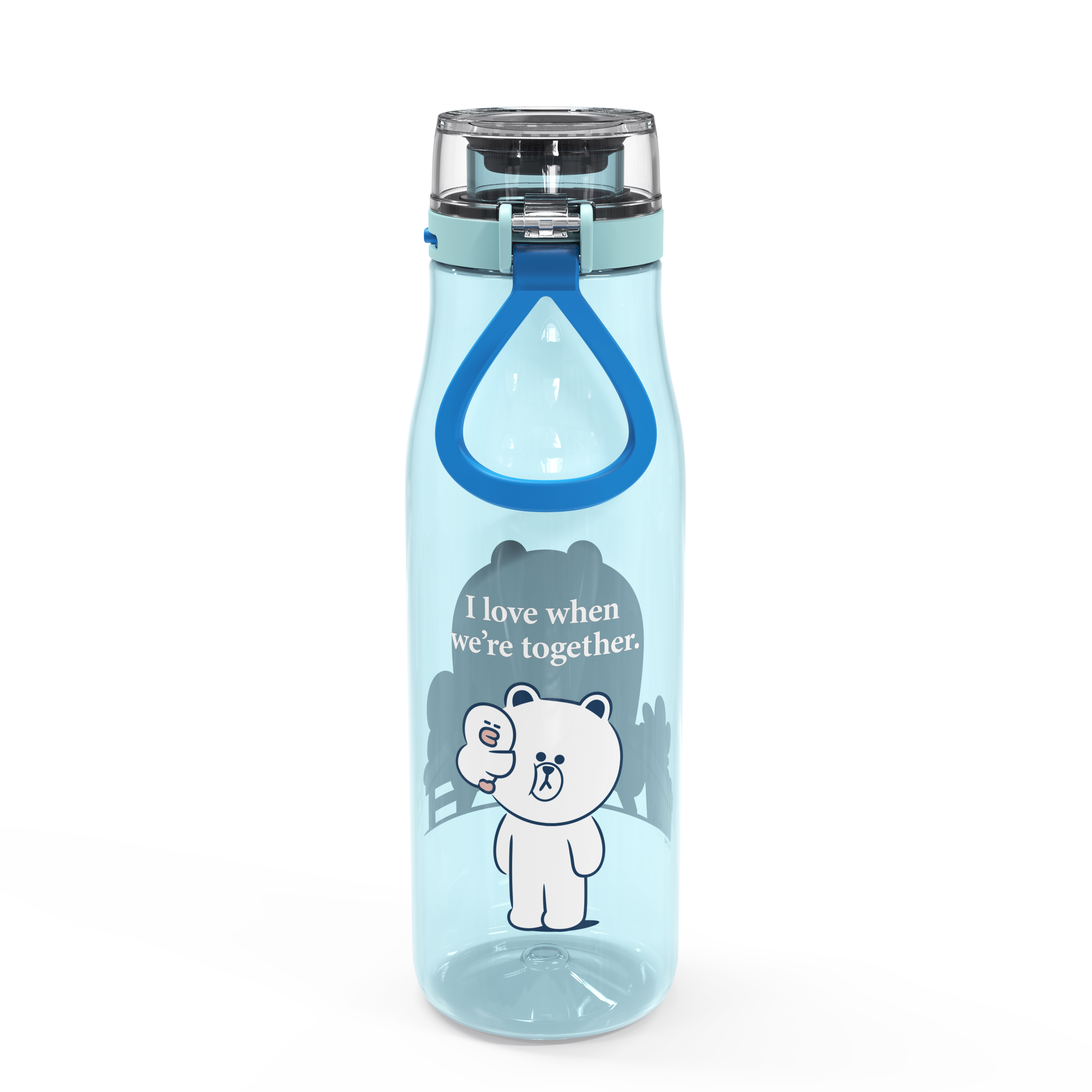 Line Friends 25 ounce Water Bottle, Brown and Sally slideshow image 4