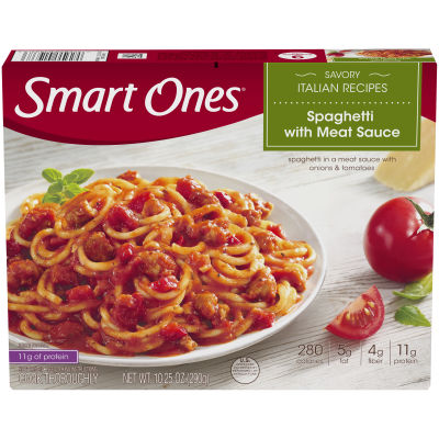 Smart Ones Spaghetti with Meat Sauce 10.25 oz Box