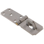 Hardware Essentials Heavy Duty Fixed Safety Staple Hasps
