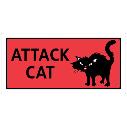 Attack Cat Sign (4.9