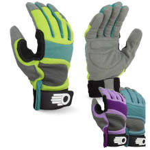 Bellingham C7785AC Women's Synthetic Palm Performance Glove 3-Pack Assorted Colors