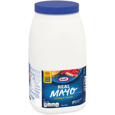 Kraft Real Mayonnaise 128 fl oz Jug