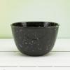Confetti 24 ounce Soup Bowl, Black & White, 6-piece set slideshow image 14