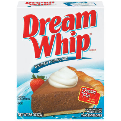 Dream Whip Whipped Topping Mix 2.6 oz Box