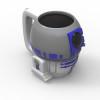 Star Wars 13 ounce Coffee Mug and Spoon, R2D2 slideshow image 2