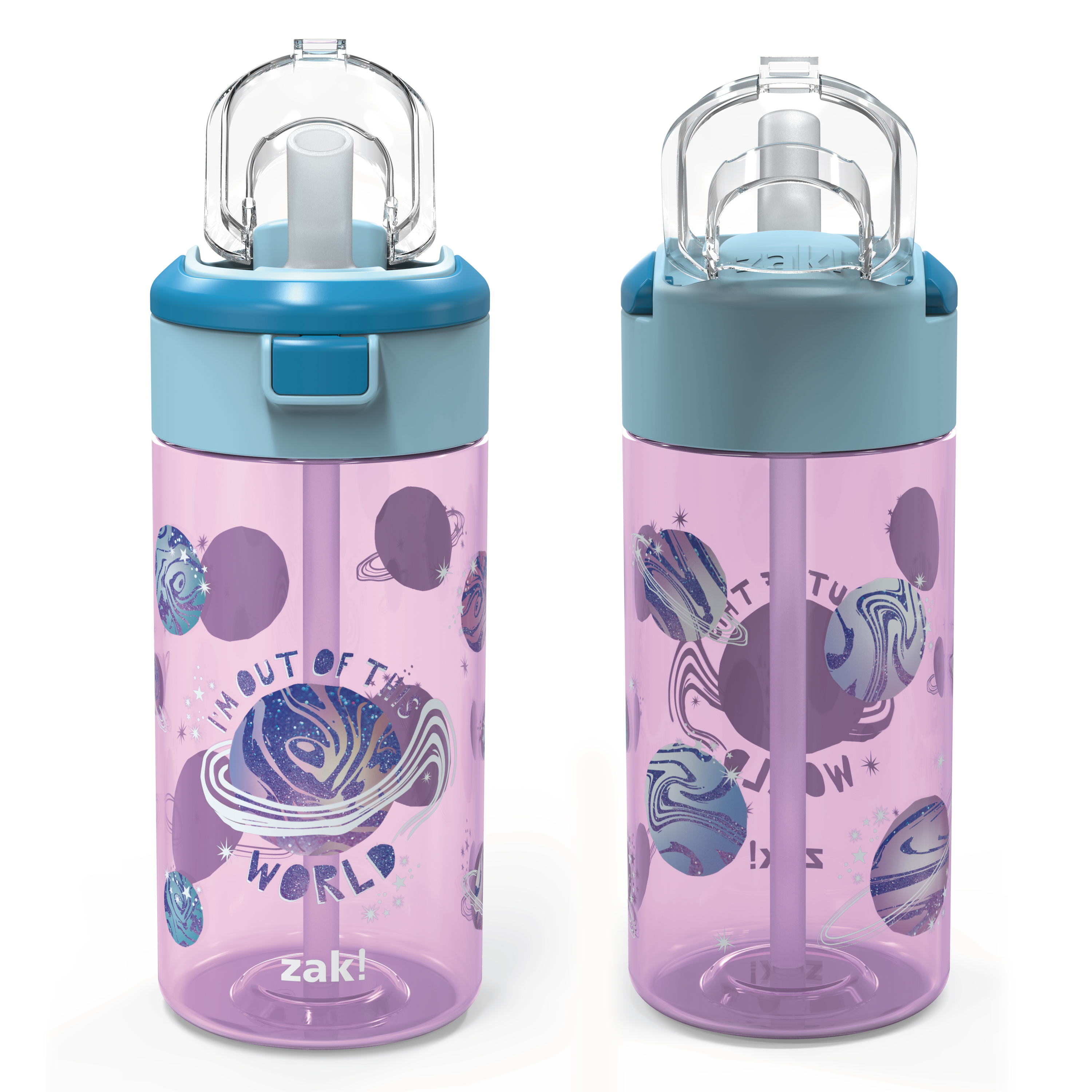 Genesis 18 ounce Water Bottles, Planet, 2-piece set slideshow image 4