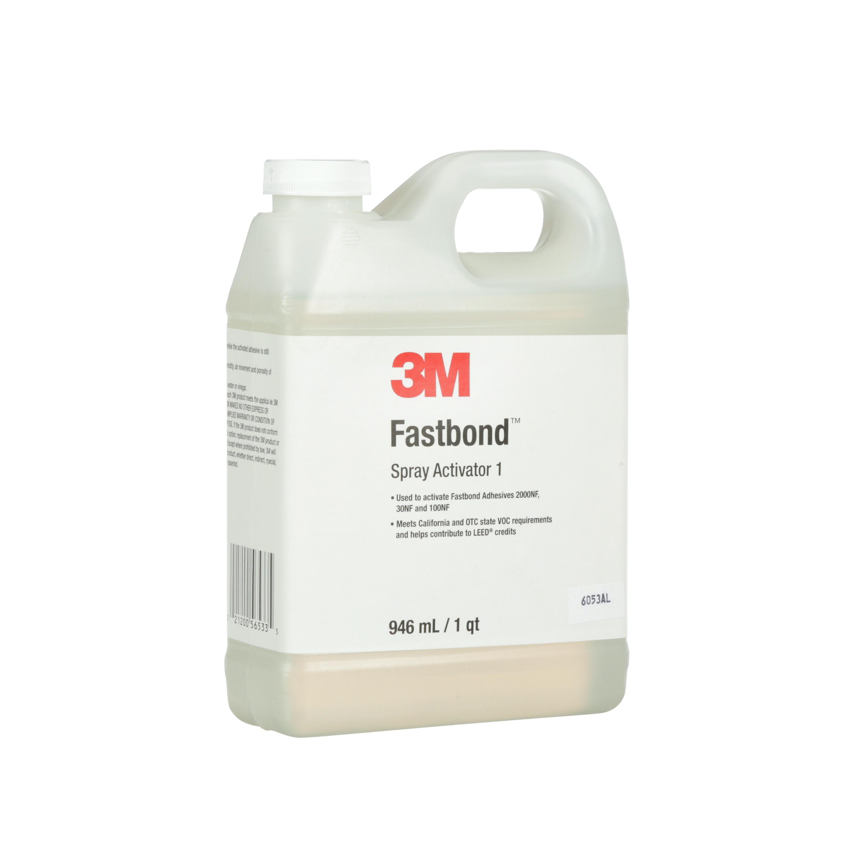 3M™ Fastbond™ Spray Activator 1, 1 Quart Bottle, 2/case
