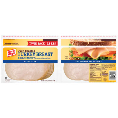 Oscar Mayer Oven Roasted Turkey Breast 40 oz