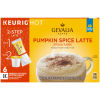 Gevalia Pumpkin Spice Latte Espresso K-Cup Pods & Froth Packets, 6 count