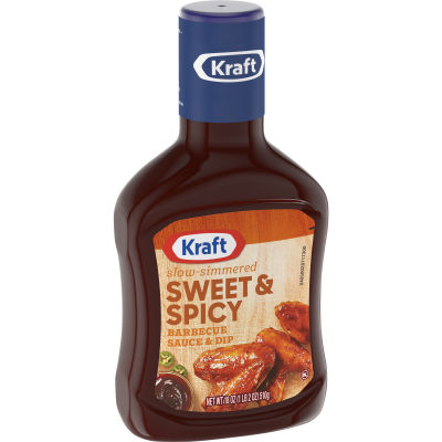 Kraft Sweet & Spicy Barbecue Sauce 18 oz Bottle