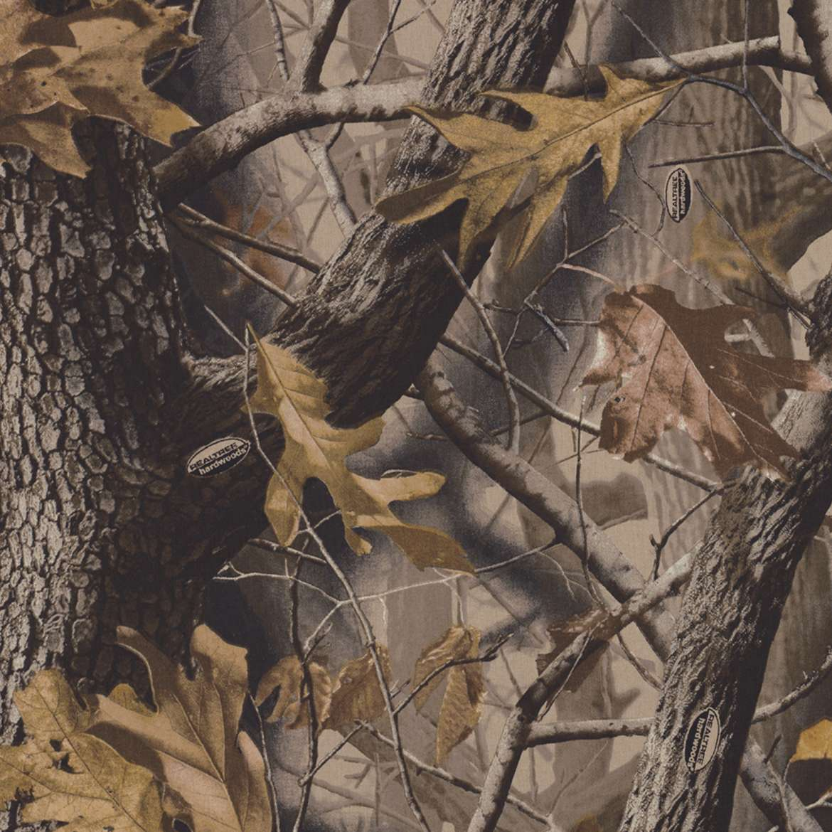 Licensed Duct Tape Realtree Camo Hardwoods Duck Brand