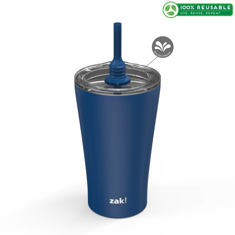 Alfalfa 20 ounce Vacuum Insulated Stainless Steel Tumbler, Indigo slideshow image 1