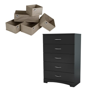 Step One - 5-Drawer Chest & 5-Piece Drawer Organizers