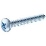 Zinc Pan Head Phillips Sheet Metal Screws