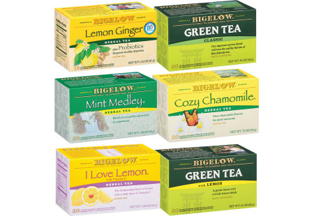 Mixed Case of Bigelow Teas for Cold and Flu - Case of 6 boxes- total of 118 teabags