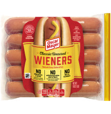 Oscar Mayer Classic Uncured Wieners 10 count