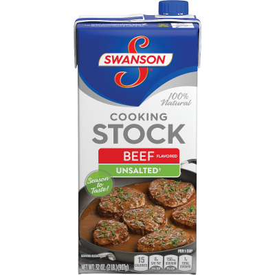 Unsalted Beef Flavored Cooking Stock
