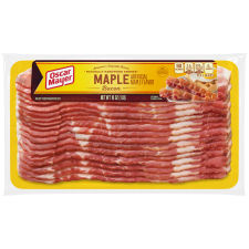Oscar Mayer Naturally Hardwood Smoked Maple Bacon, 16 oz Pack